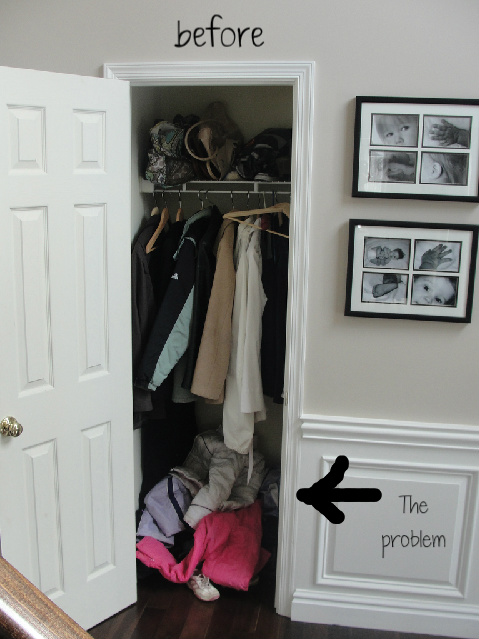 Exceptional Since January Is National Gung Ho Month, I Celebrated Last Week By Redoing  The Coat Closet.