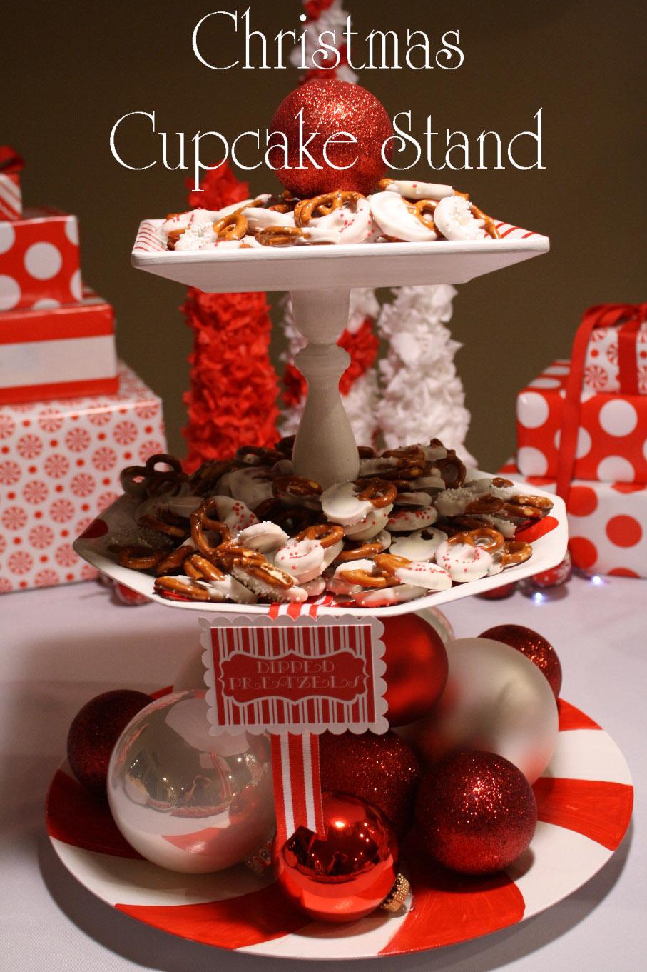 Creative mommas christmas cupcake stand
