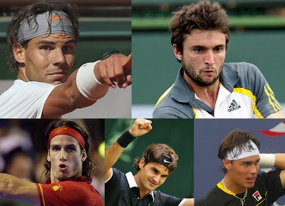 Most Sexy Male Tennis Players in Roland Garros photo