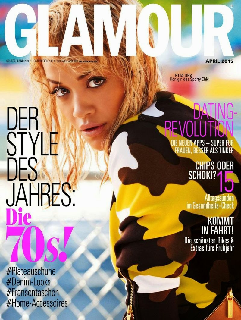 Singer @ Rita Ora - Glamour Germany, April 2015