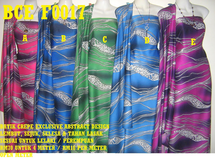 BCE F0017: BATIK CREPE EXCLUSIVE ABSTRACT DESIGN