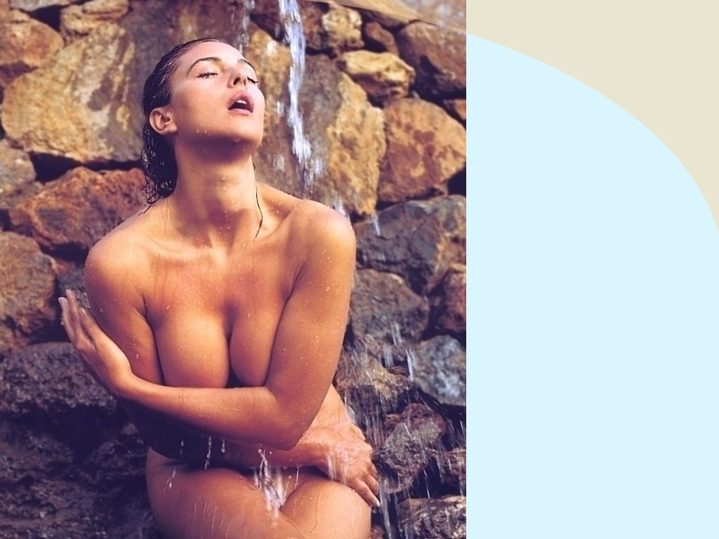 Rather monica bellucci nuda foto vagina seems remarkable