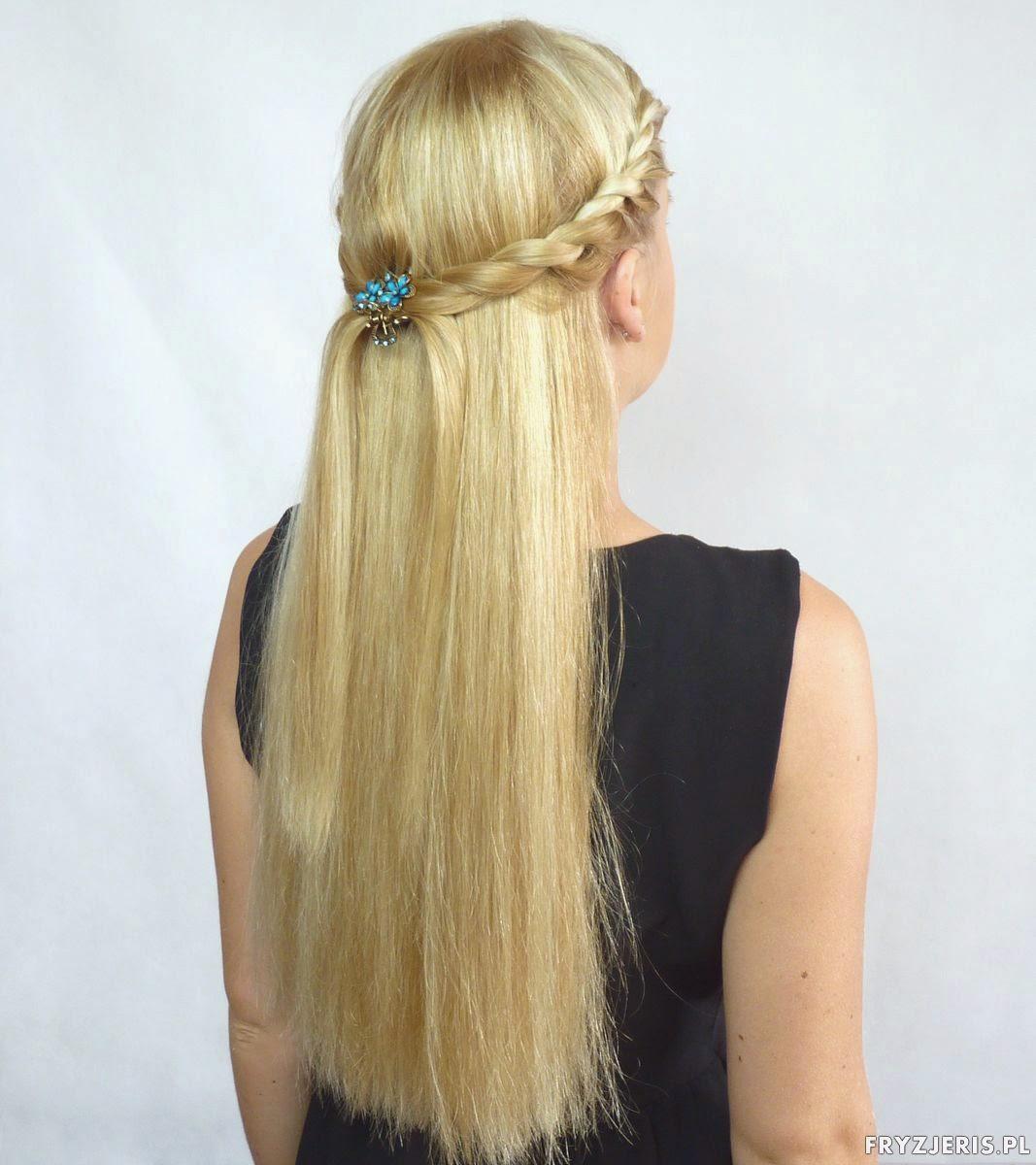 fryzura na lato - splot