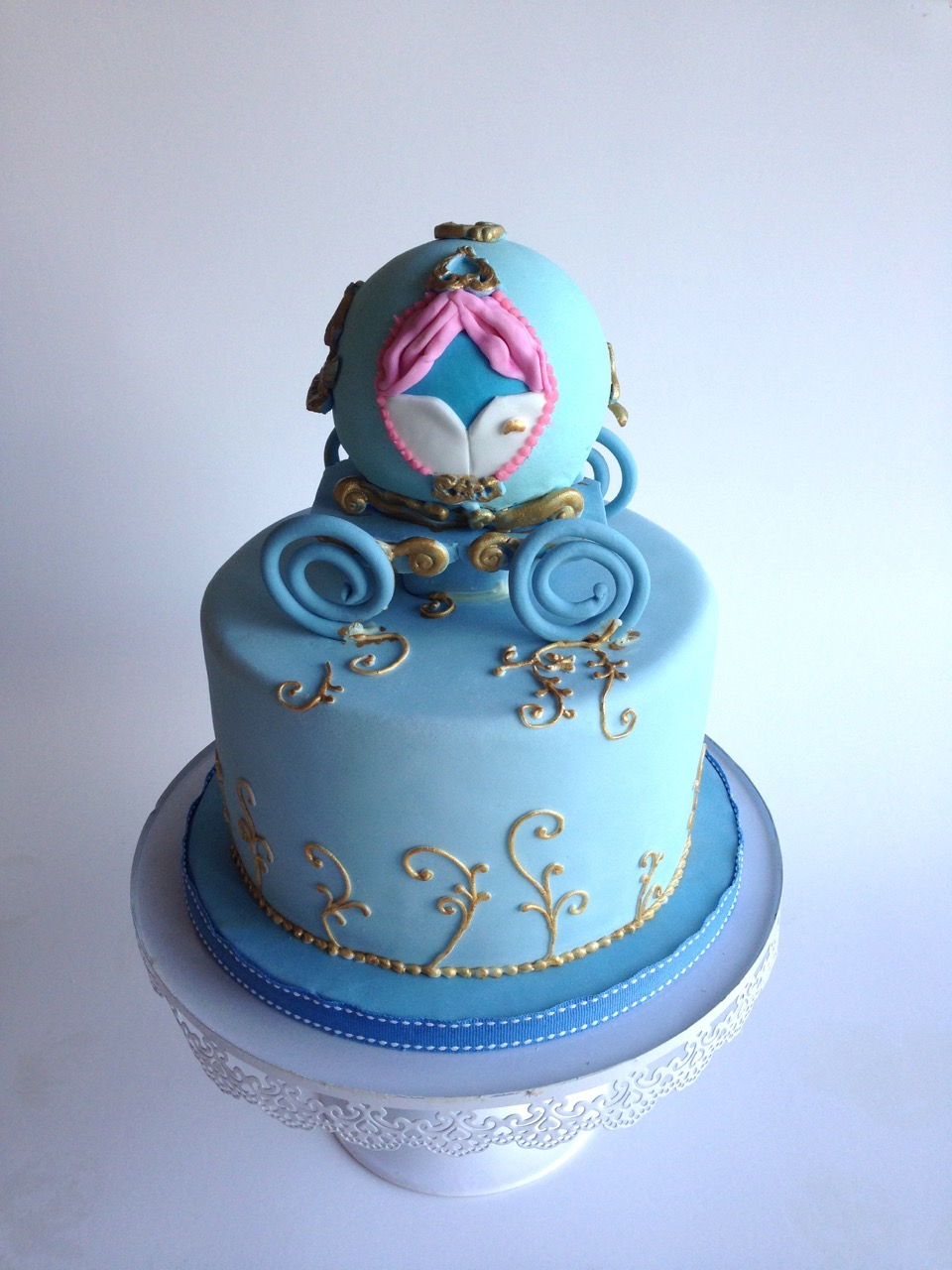 Cinderella Coach Birthday Cake Image Inspiration of Cake and