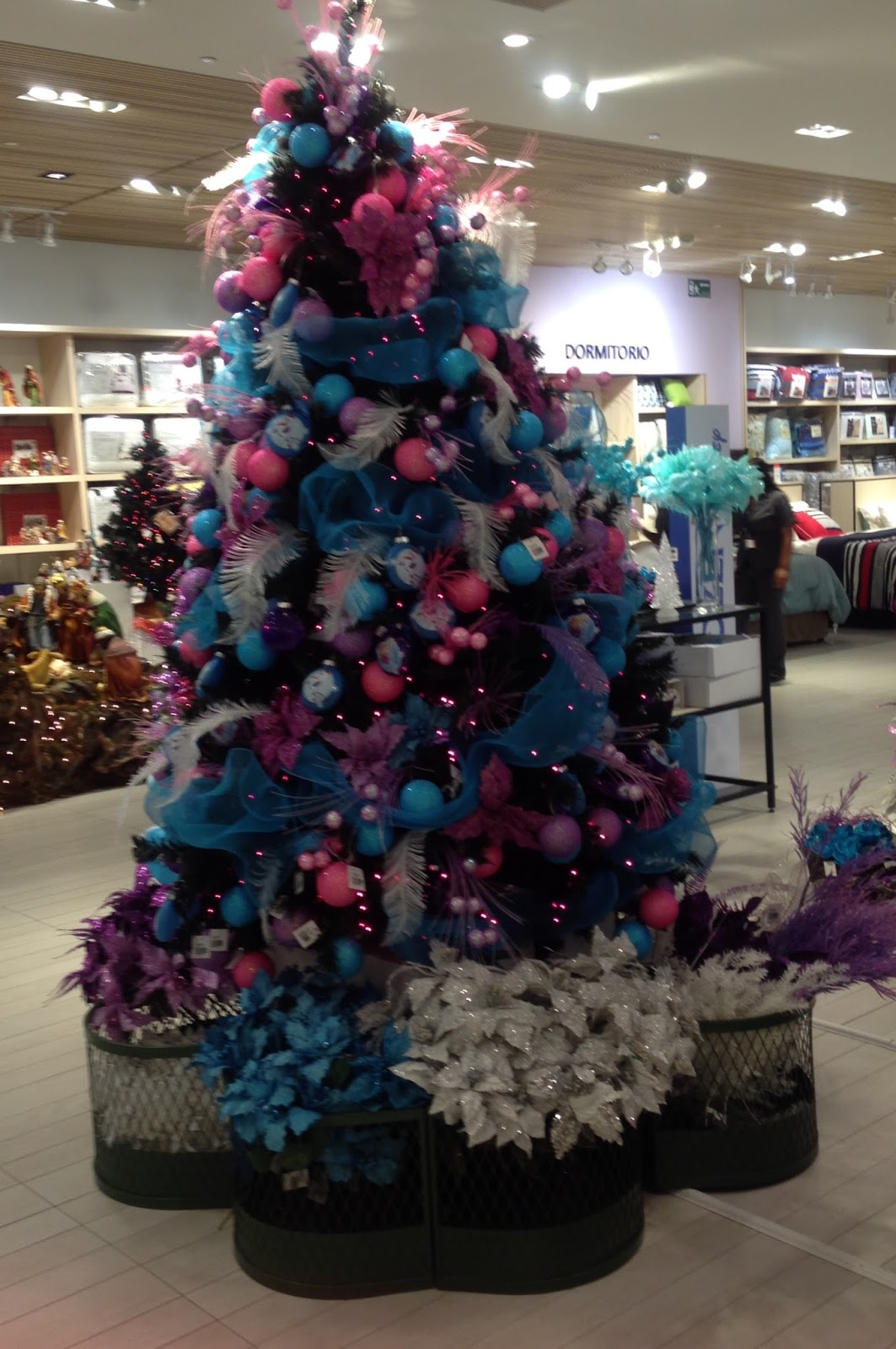 La navidad ya lleg a almacenes siman - Arboles de navidad rosa ...