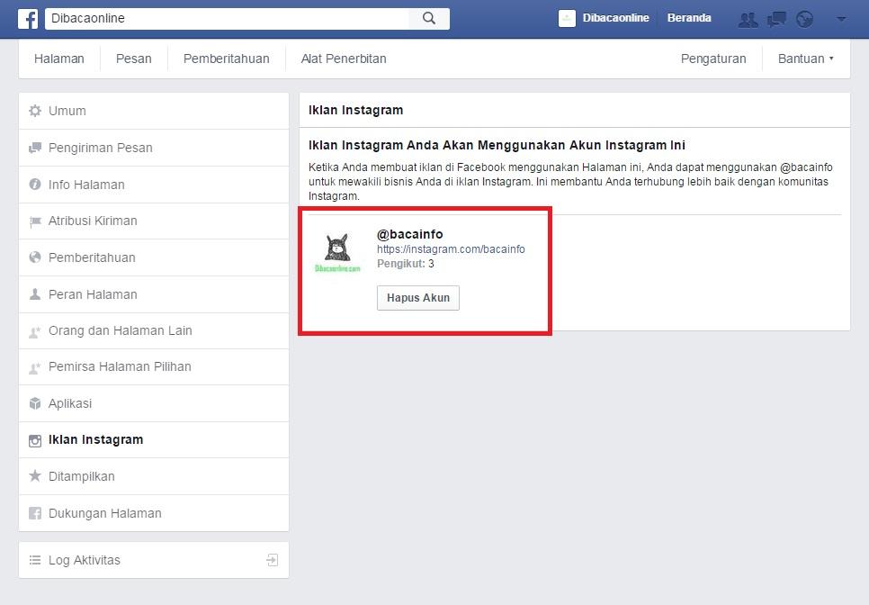 Cara Pasang Iklan di Instagram Dengan Mudah Lewat Facebook