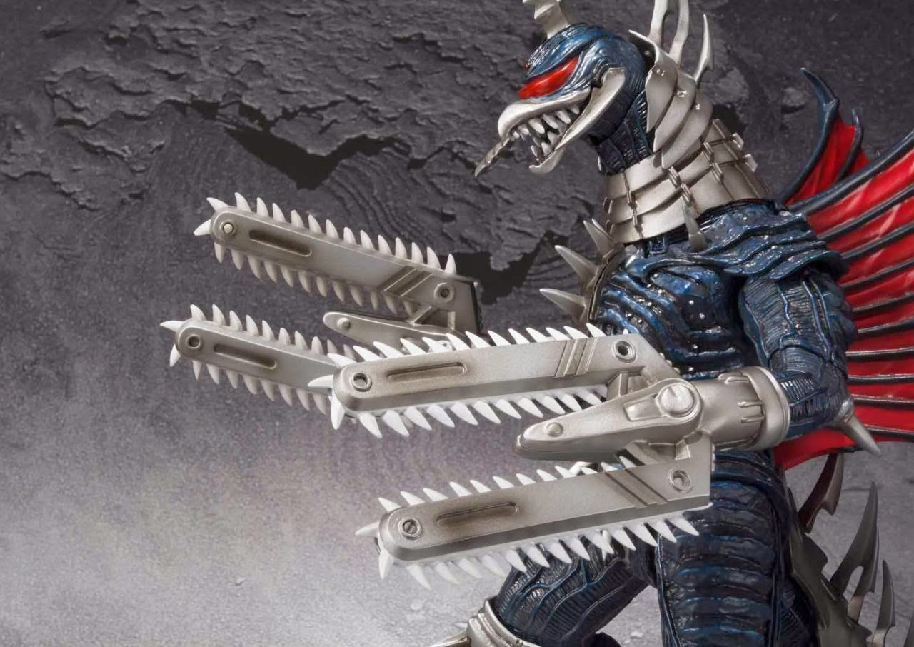 Irsyad's Way: S.H.MonsterArts Gigan Revealed