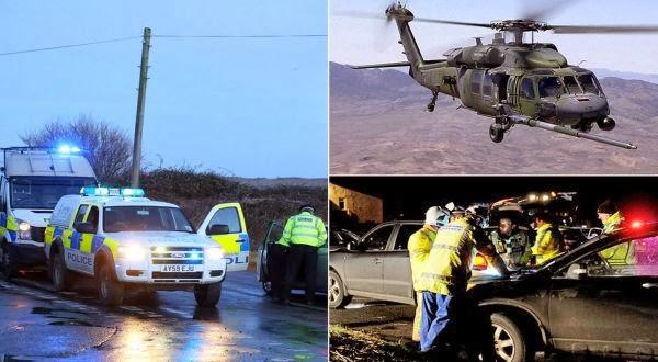 Dalam Waktu 24 Jam Dua Helikopter Militer AS Jatuh