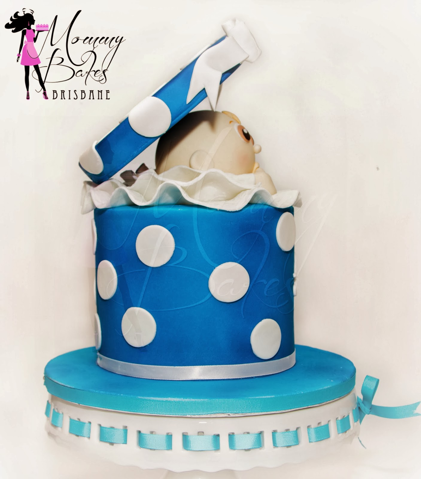 Surprise Baby Shower Cake