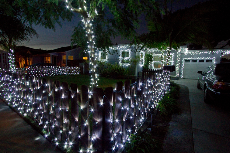 the result was 12 sets of net lights 14 strands of regular lights and 12 sets of icicle lights