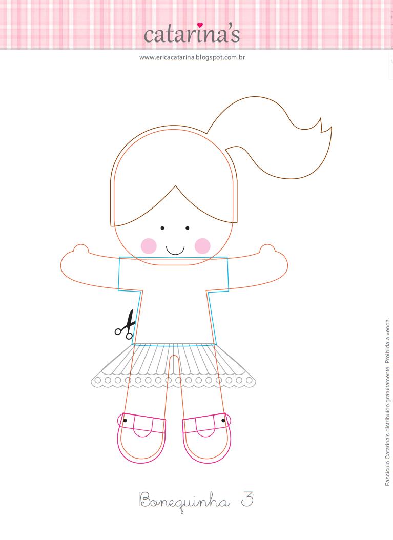 Кукла из фетра выкройки