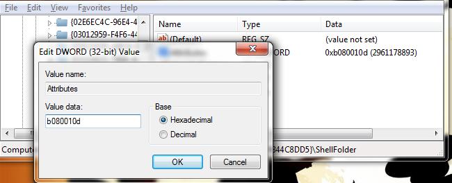 Cara Menyembunyikan Favorites dan Libraries pada Windows 7