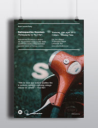 Retrospective Scooters book launch poster