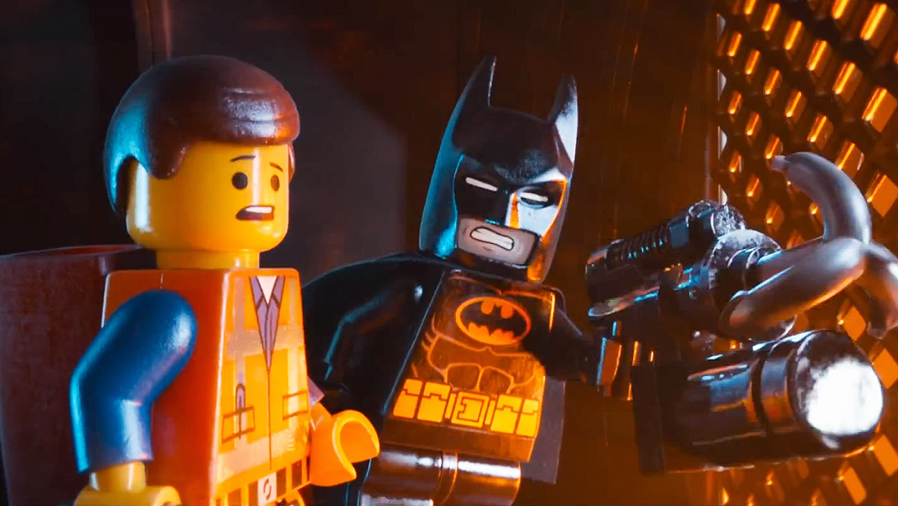 LEGO Batman animated pun