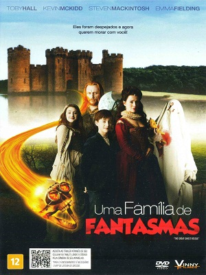 Filme Poster Uma Famlia de Fantasmas DVDRip XviD Dual Audio &amp; RMVB Dublado