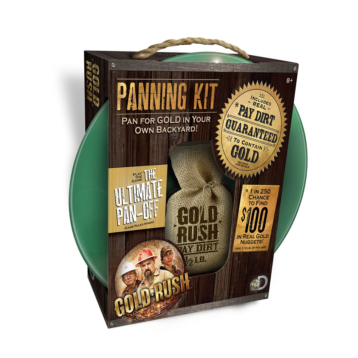 Gold Rush Panning Kit: $29.99