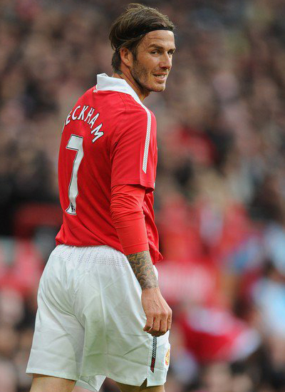Friendly Match David Beckham Manchester United vs Juventus