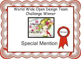 World wide open Design Team special mention