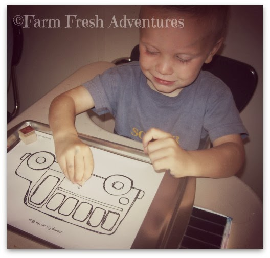 photo journal homeschool preschool ABC