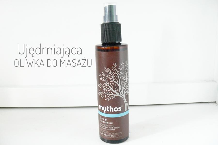 Flax Cosmetics, Mythos, Ujędrniająca Oliwka do Masażu Antycellulit