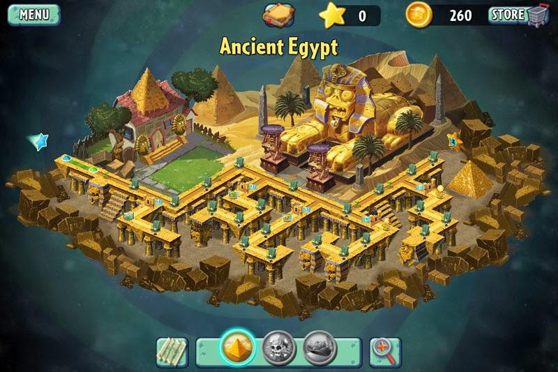 Plants Vs Zombies 2, el antiguo egipto