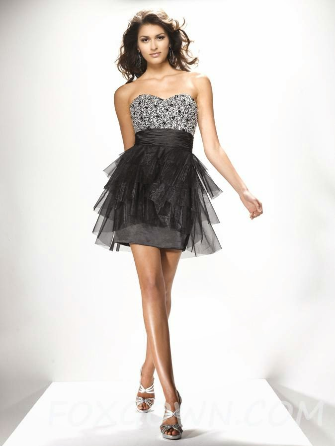 black party dresses idea