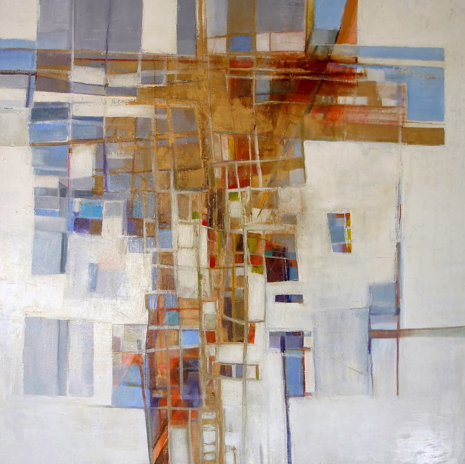 Résurrection - 100 x 100 cm - 2003