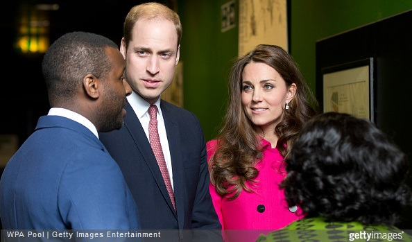 Britain's Catherine, Duchess of Cambridge and Prince William, Duke of Cambridge visited the Stephen Lawrence Centre