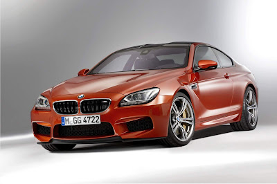 2012-BMW-M6-Red-Color-Front-Side-View