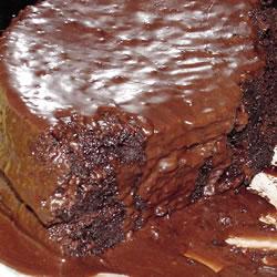 Fudge Pudding gâteau au chocolat