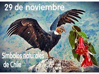Chile, sus símbolos naturales.