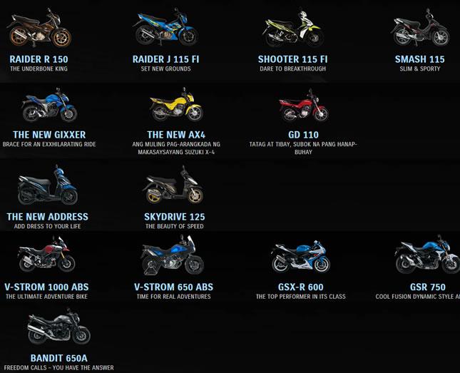 Suzuki Com Motorcycles Philippines