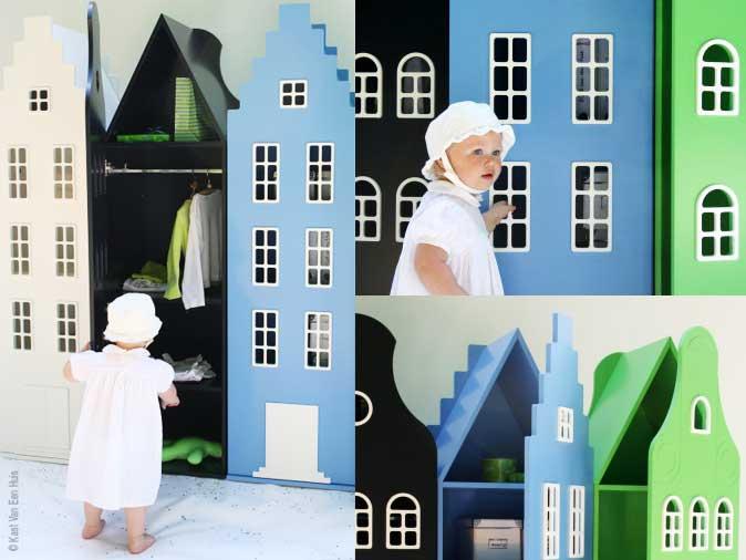 Amsterdamse Huisjes Kast : Kast van een huis cheap kast van een huis dobbelt skab durgerdam