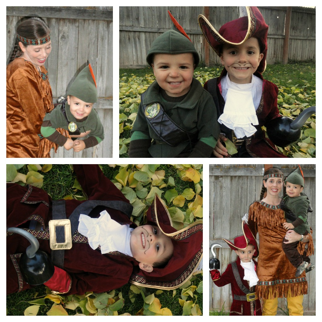 Peter Pan Family Costume  sc 1 st  A Little Tipsy & Peter Pan Family Costume - A Little Tipsy