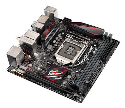 hardware, komputerr, ASUS Z170I Pro Gaming Motherboard Mini-ITX Terbaik untuk CPU Skylake