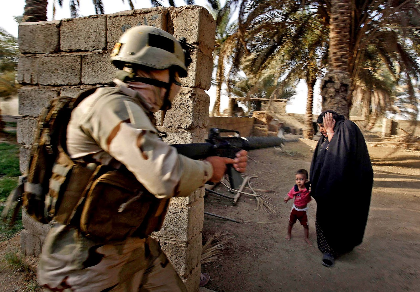 ethical dilema american invasion of iraq