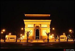 ARC DE TRIOMPHE PARIS di Kendiri
