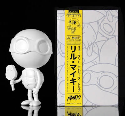 Teenage Mutant Ninja Turtles Blank Edition Lil Mikey Vinyl Figure by Mike Mitchell x Mondo