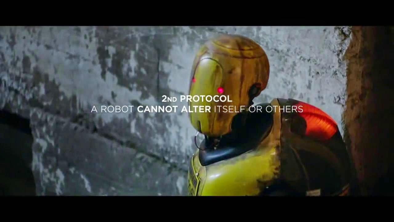 2o protocolo: un robot no puede alterarse a si mismo o a otros