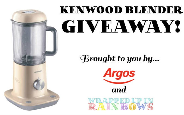Win this beautiful Kenwood blender!