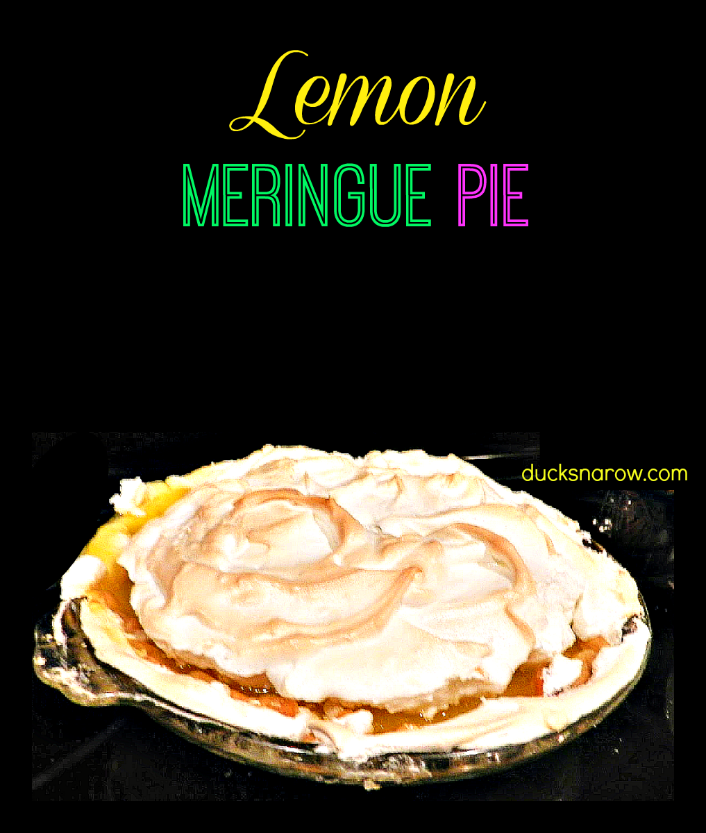 how to make a lemon meringue pie - easy! #pie