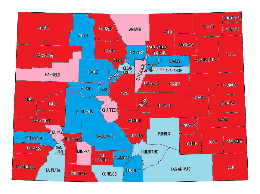 Us Mid Election Red Vs Blue Map - 2014 us mid election red vs blue map