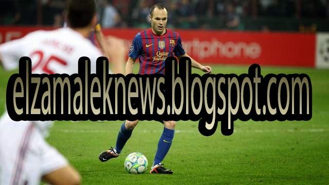 Iniesta Player Of Barcelona