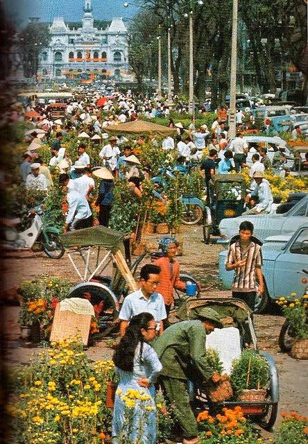 Những hình ảnh đẹp về Tết xưa ở Sài Gòn