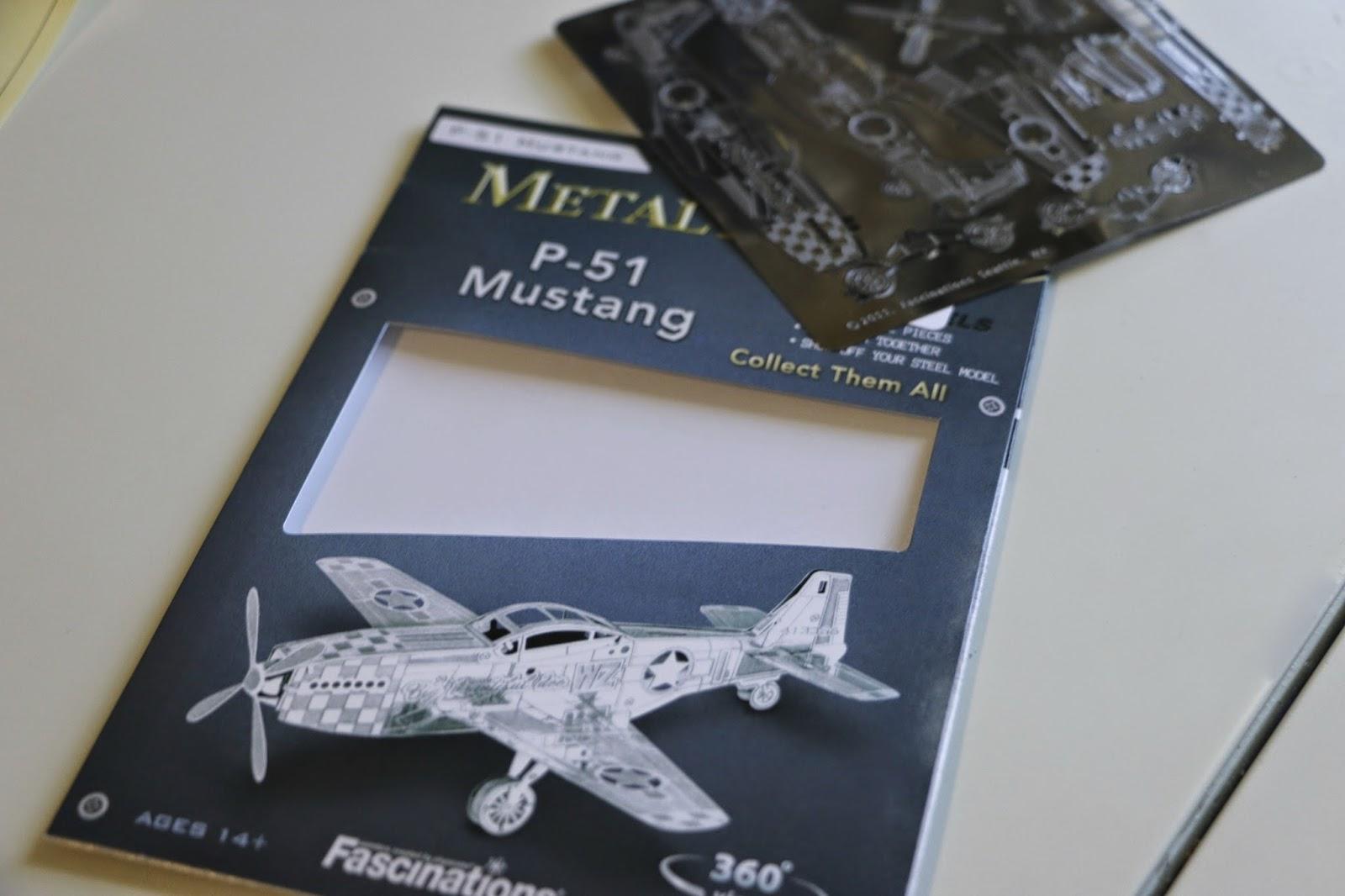Metal Earth 3D laser cut model