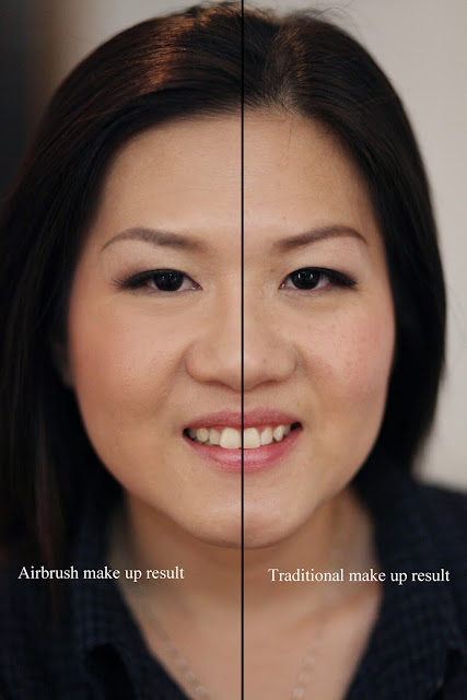 Airbrush Wedding Makeup : Aivy Yong air brush bridal make up - professional makeup ...