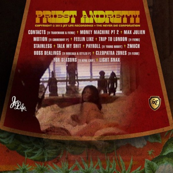 Curreny Priest Andretti2 Curren$y   Priest Andretti (Mixtape)