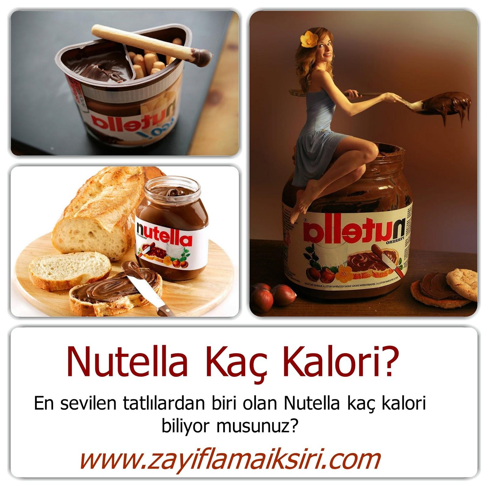 Nutella Kaç Kalori