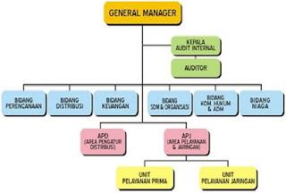 Struktur dan bagan organisasi