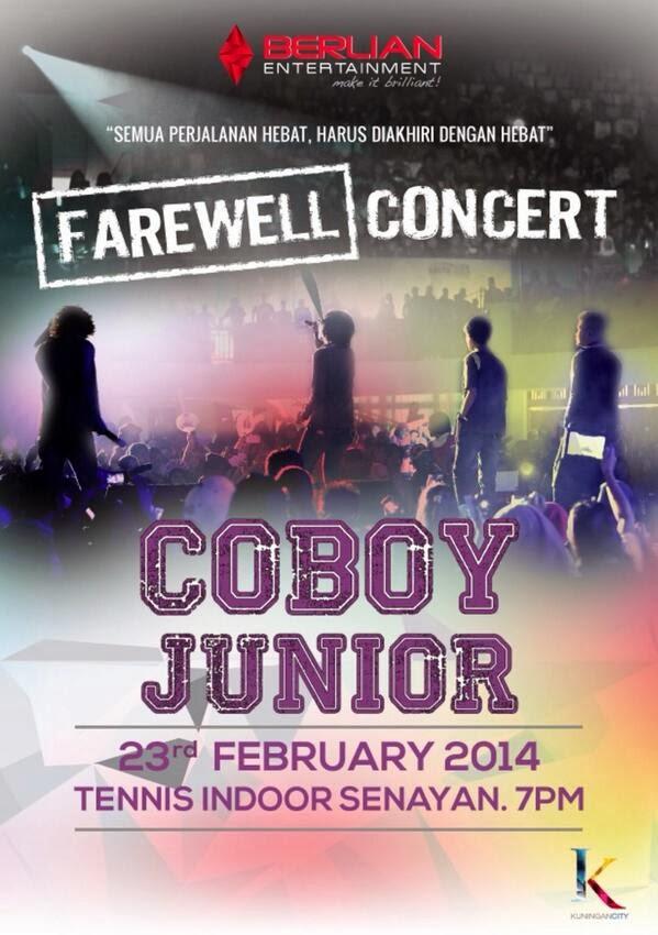 Konser Farewell Perpisahan Coboy Junior